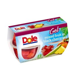 Dole Dole Black Cherry Fruit Mix Cup, 4 ct