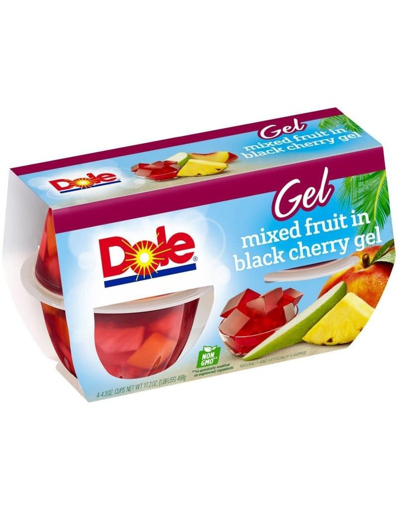 Dole Dole Black Cherry Fruit Mix Cup, 4 ct