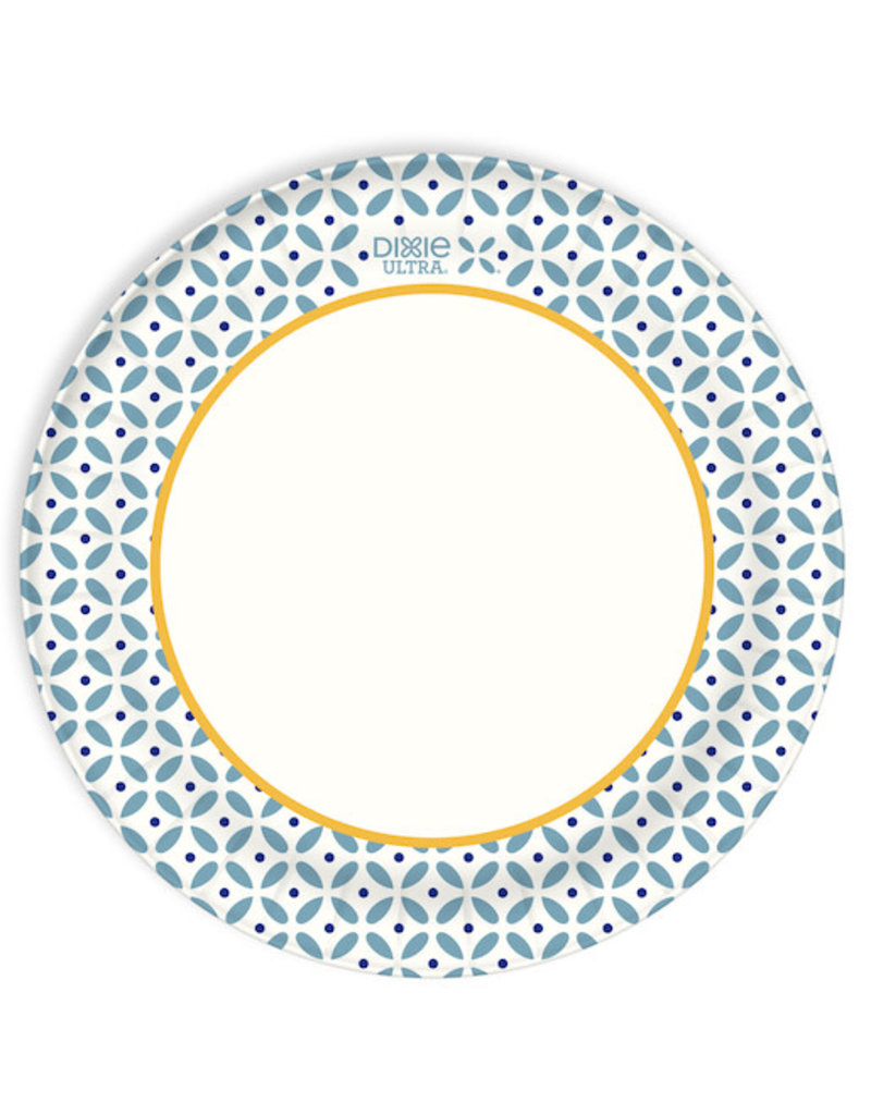 Dixie Dixie Plates Heavy Duty 9'', 90 ct (Pack of 6)
