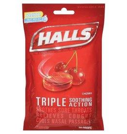 Halls Halls Cherry Bags Cough Drops, 30 ea, 12 ct
