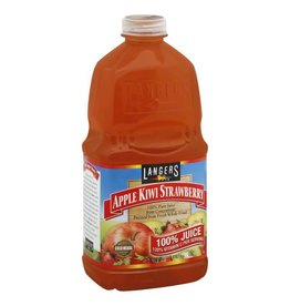 Langers Langers Apple Kiwi Strawberry 100% Juice, 64 oz, 8 ct