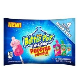 Bazooka Baby Bottle Pop Lollipop, 3.2 oz, 12 ct