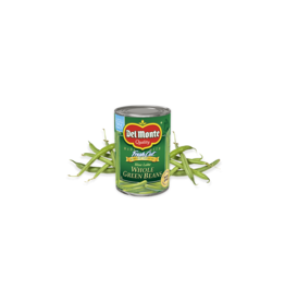 Del Monte Del Monte Whole Green Beans, 14.5 oz