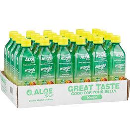 AloeVita AloeVita Mango Aloe Vera Pure Water, 16.9 oz, 24 ct