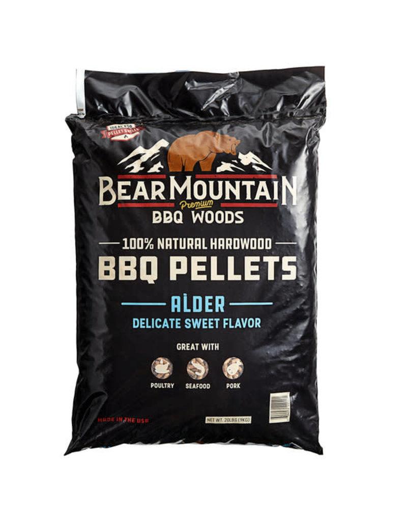 Bear Mountain Bear Mountain 100% Natural Hardwood Alder BBQ Pellets, 20 lb