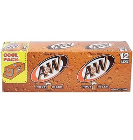 A&W A&W Root Beer, 12 oz, 2-12 ct
