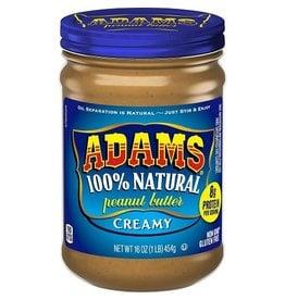 Adams Adams Peanut Butter Creamy, 16 oz