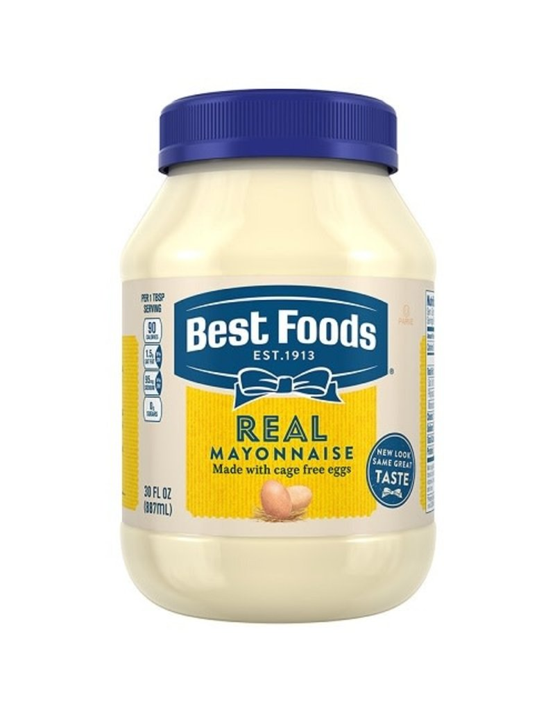 Best Foods Best Foods Mayo Real, 30 oz