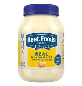 Best Foods Best Foods Mayo Real, 30 oz, 15 ct