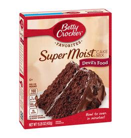 Betty Crocker Betty Crocker Cake Mix Devils Food, 15.25 oz, 12 ct
