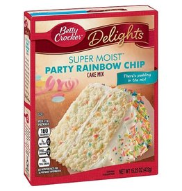 Betty Crocker Betty Crocker Cake Mix Party, 15.25 oz, 12 ct