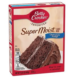 Betty Crocker Betty Crocker Chocolate Fudge Cake Mix, 15.25 oz, 12 ct