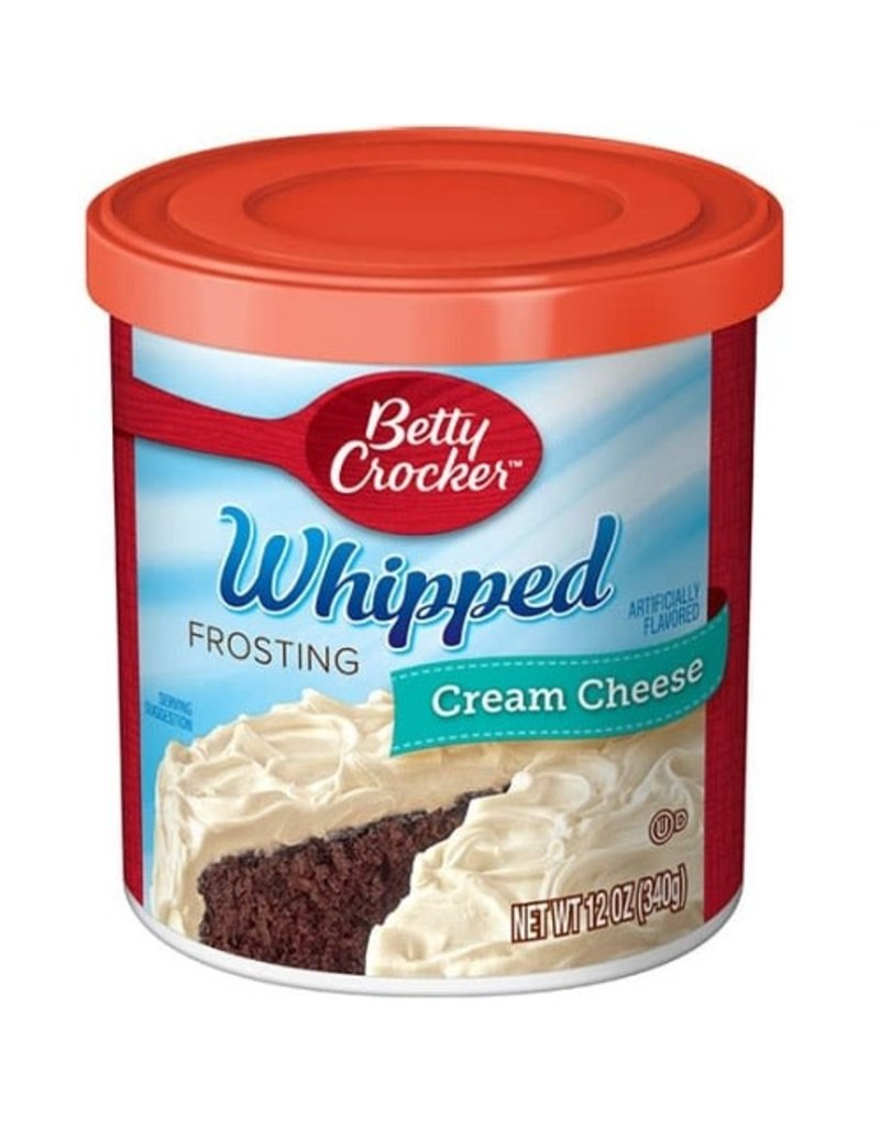 Betty Crocker Betty Crocker Frosting Whipped Cream Cheese, 12 oz, 8 ct