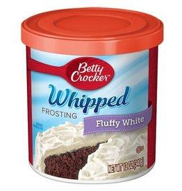 Betty Crocker Betty Crocker Frosting Whipped Fluffy White, 12 oz, 8 ct