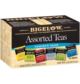 Bigelow Bigelow Tea Bags Assortment, 18 ct (Pack of 6)