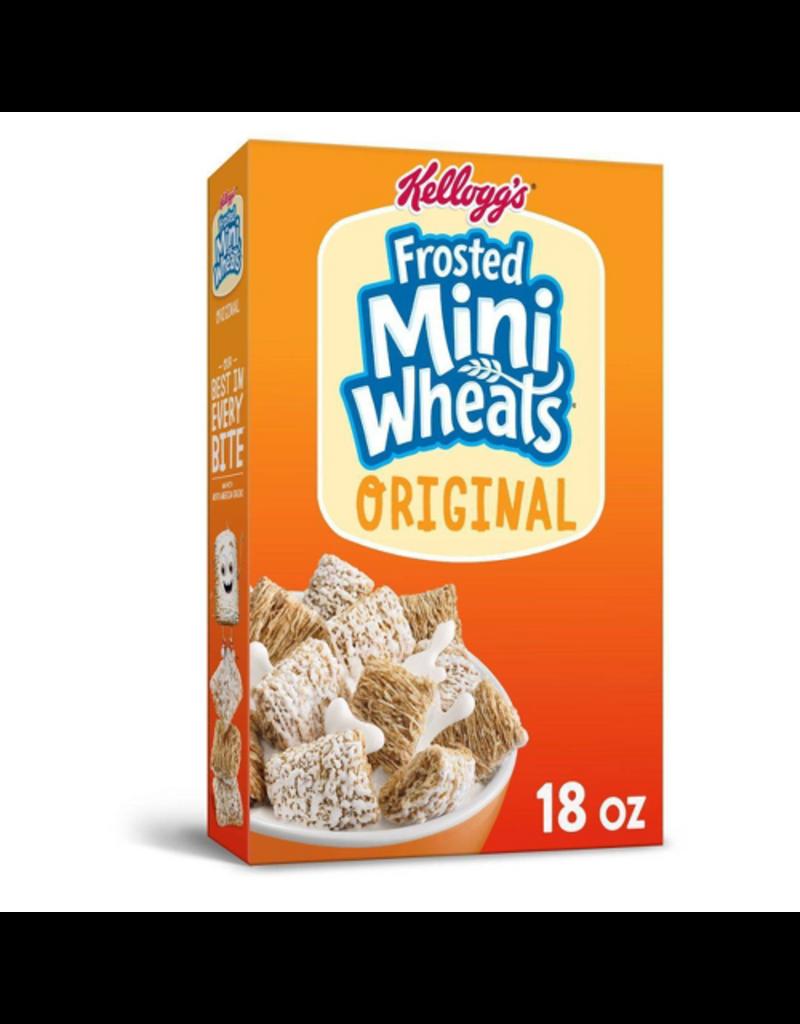Kellogg's Kelloggs Frosted Mini Wheats, 18 oz