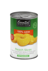 Essential Everyday EED Sliced Peaches in 100% Juice, 15 oz