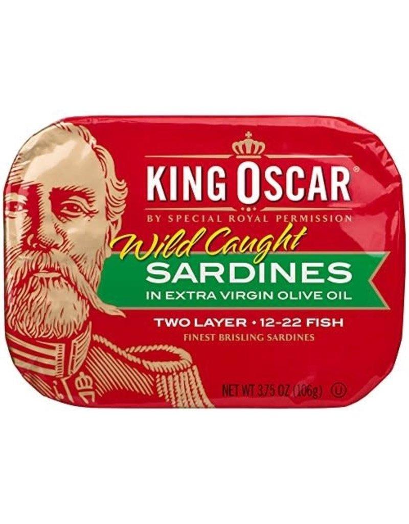 King Oscar King Oscar Brisling Sardines, 3.75 oz
