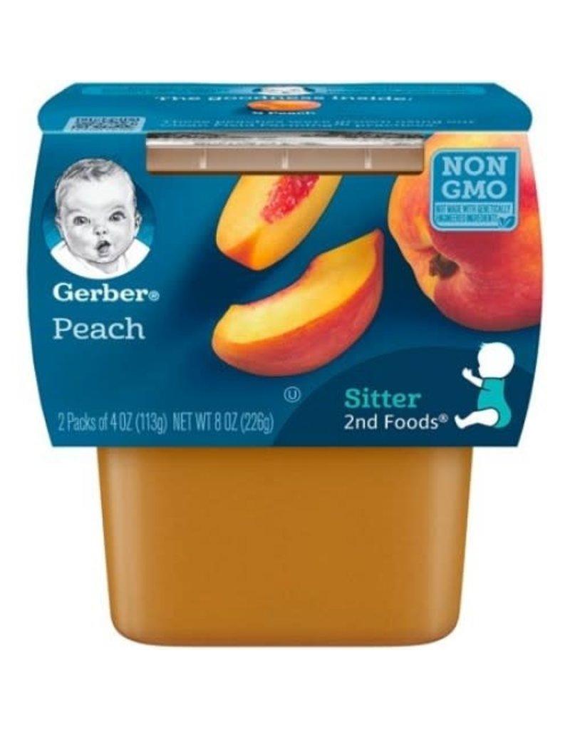 Gerber Gerber 2nd Foods Peaches, 8 oz