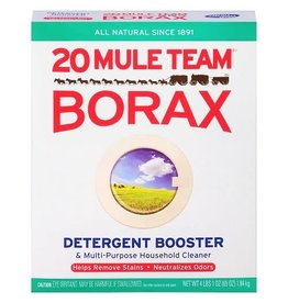 Borax Borax 20 Mule Team Laundry Booster, 65 oz, 6 ct