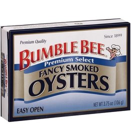 Bumble Bee Bumble Bee Oysters Smoked Fancy, 3.75 oz, 18 ct