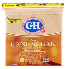 C&H C&H Golden Brown Clear Pack, 2 lb