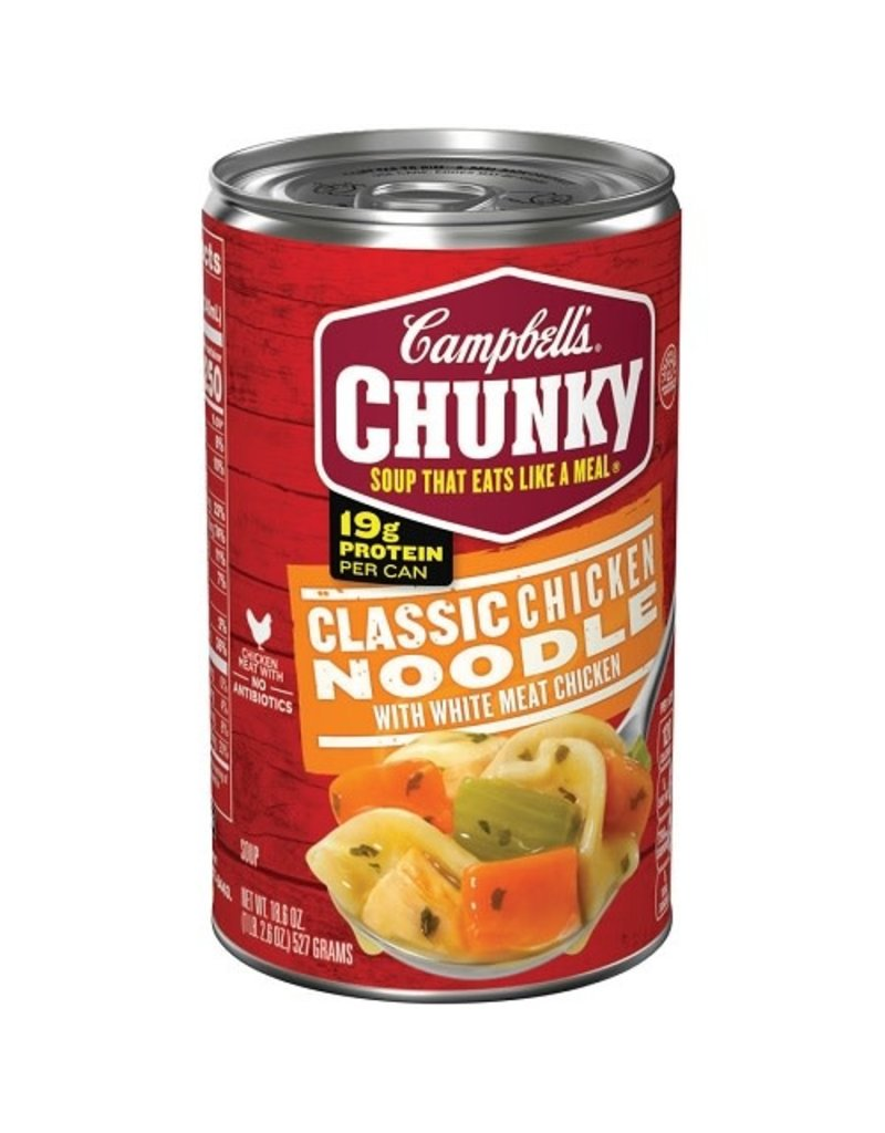 Campbell's Campbells Soup Chunky Chicken Noodle, 18.6 oz, 12 ct
