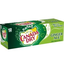 Canada Dry Canada Dry Ginger Ale, 2-12 ct, 12 oz