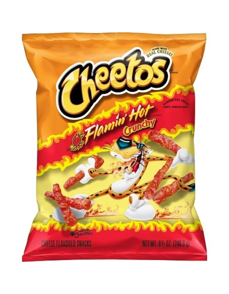 Cheetos Cheetos Crunchy Flamin' Hot, 8.5 oz, 10 ct