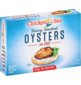 Chicken Of The Sea Chicken Of The Sea Smoked Oysters, 3.75 oz, 18 ct