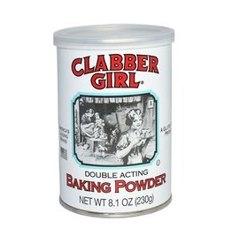 Clabber Girl Clabber Girl Baking Powder, 8.1 oz, 24 ct