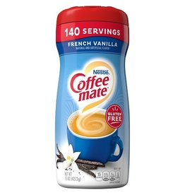 Coffee-Mate Coffeemate French Vanilla Powder, 15 oz, 6 ct
