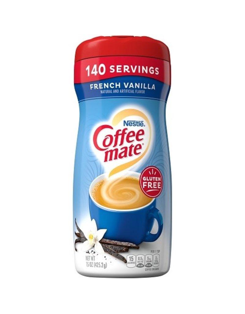 Coffee-Mate Coffeemate French Vanilla Powder, 15 oz, 6 ct