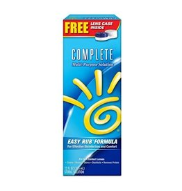 Complete Complete Solution Multi-Purpose, 12 oz, 3 ct
