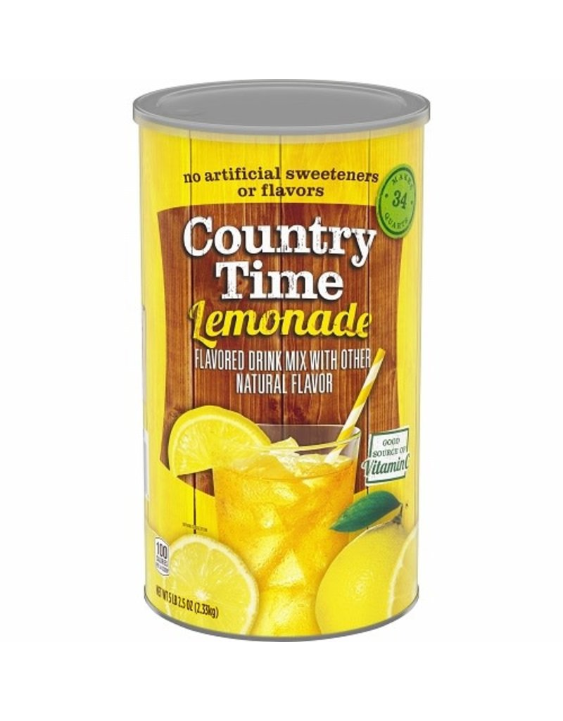 Country Time Country Time Lemonade (Makes 34 Quarts), 82.5 oz