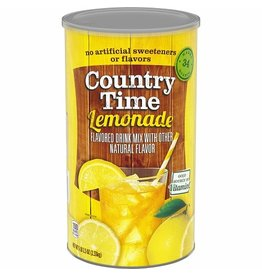 Country Time Country Time Lemonade (Makes 34 Quarts), 82.5 oz, 6 ct