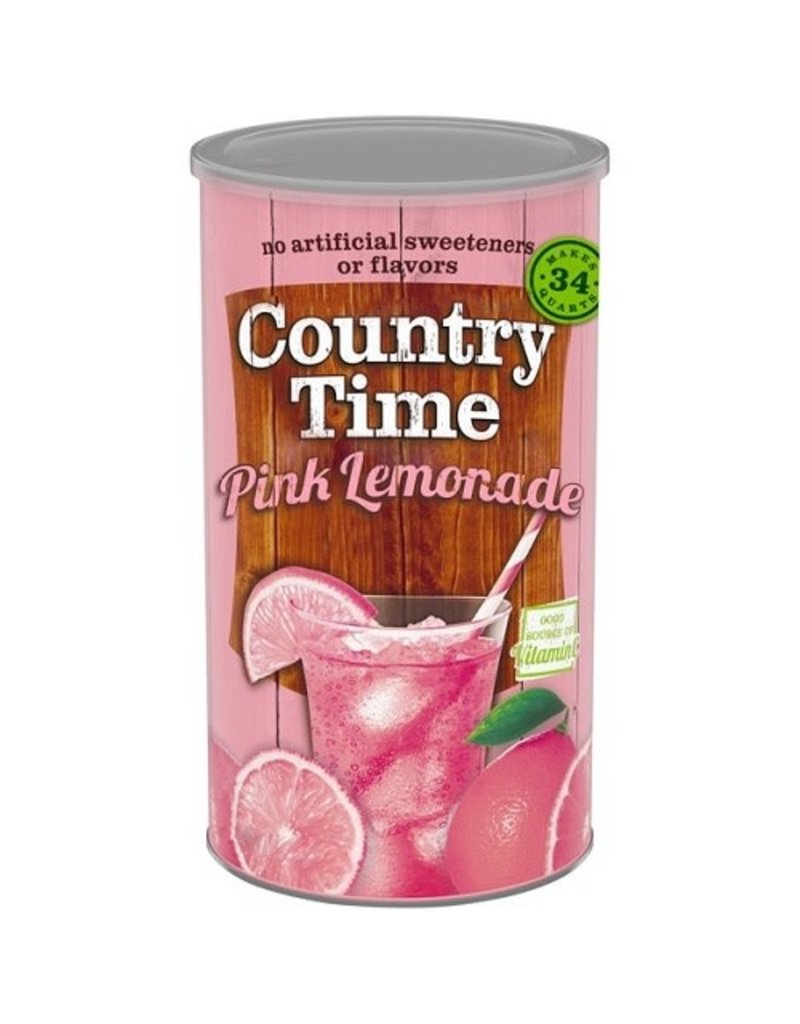 Country Time Country Time Pink Lemonade (Makes 34 Quarts), 82.5 oz, 6 ct