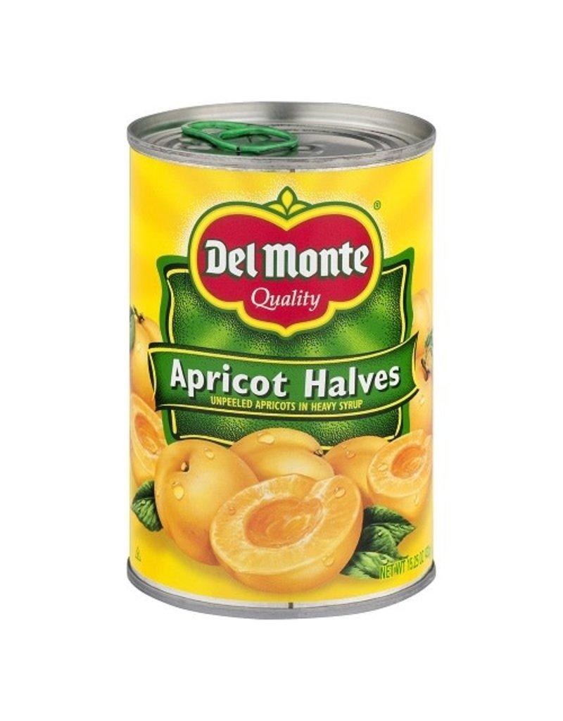 Del Monte Del Monte Apricot Halves, 15.25 oz, 12 ct