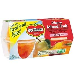 Del Monte Del Monte Cherry Fruit Mix Cup 4 ct, 16 oz (Pack of 6)