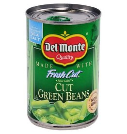 Del Monte Del Monte Cut Green Beans, 14.5 oz, 24 ct