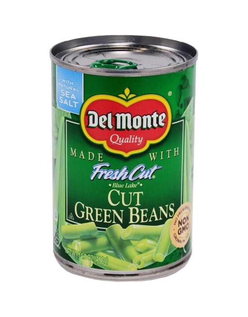 Del Monte Del Monte Cut Green Beans, 14.5 oz, 24 ct
