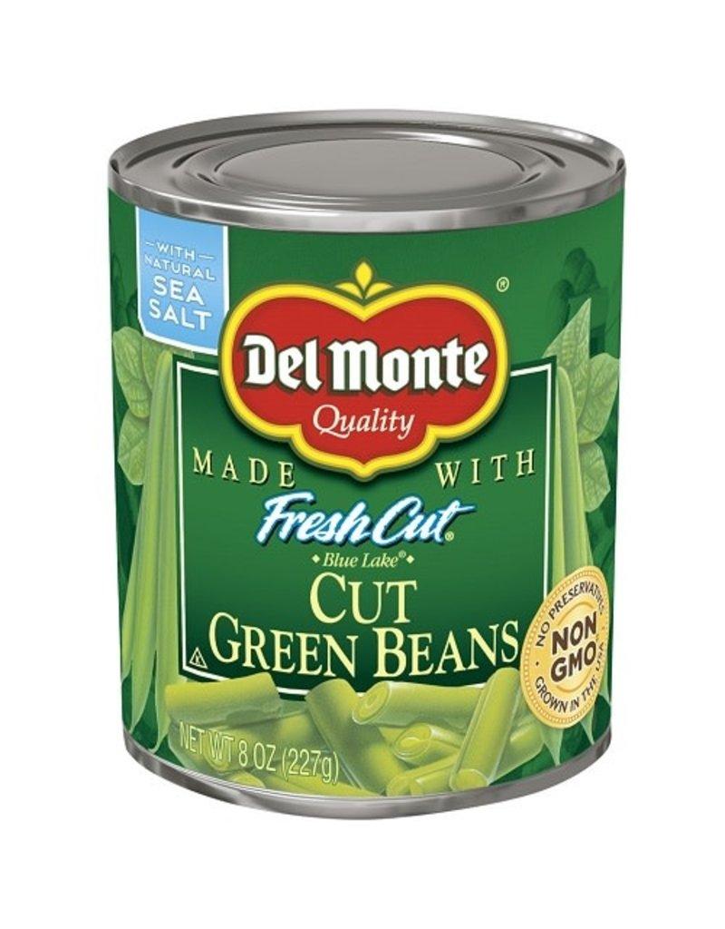 Del Monte Del Monte Cut Green Beans, 8 oz, 12 ct