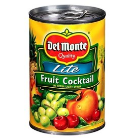 Del Monte Del Monte Fruit Cocktail Extra Lite Syrup, 15 oz, 12 ct