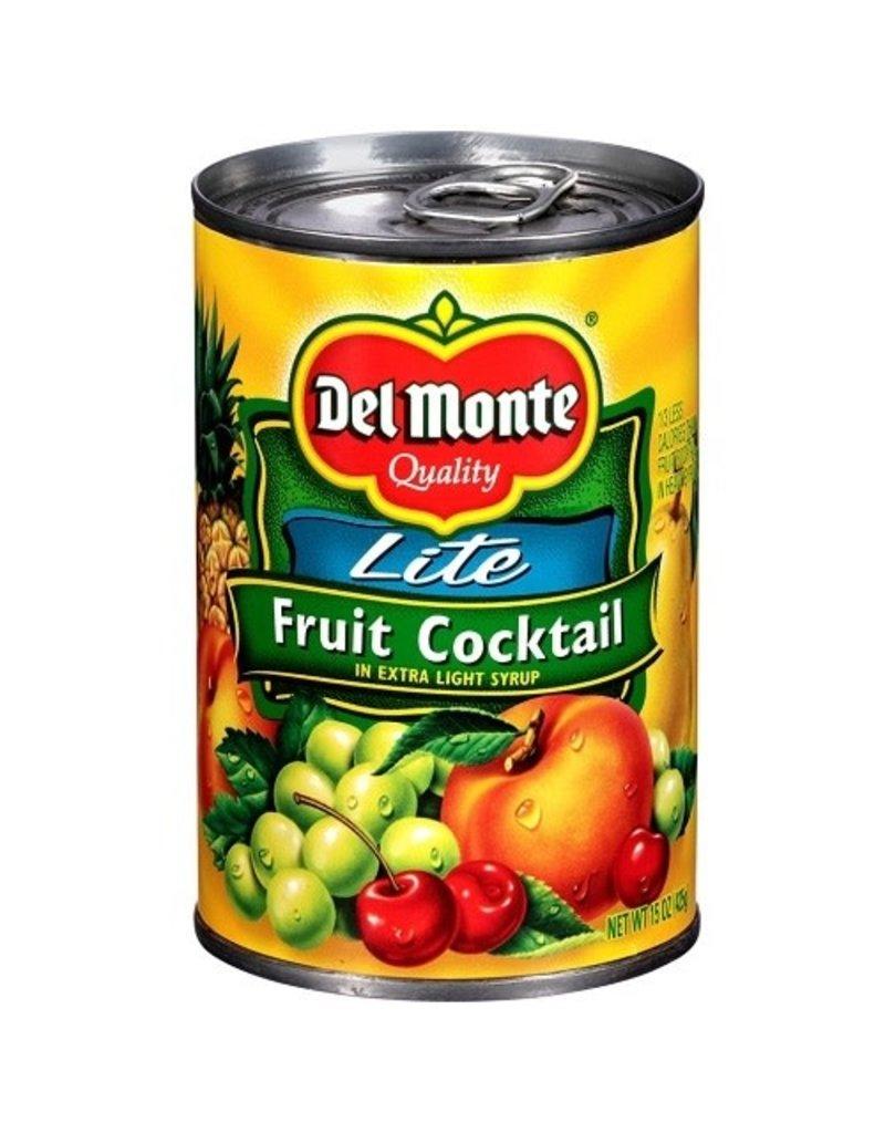 Del Monte Del Monte Fruit Cocktail Extra Lite Syrup, 15 oz, 12 ct