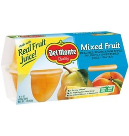 Del Monte Del Monte Mixed Fruit Cup 4 - 4 oz (Pack of 6)