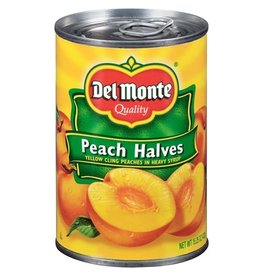 Del Monte Del Monte Peach Halves Heavy Syrup, 15 oz, 12 ct