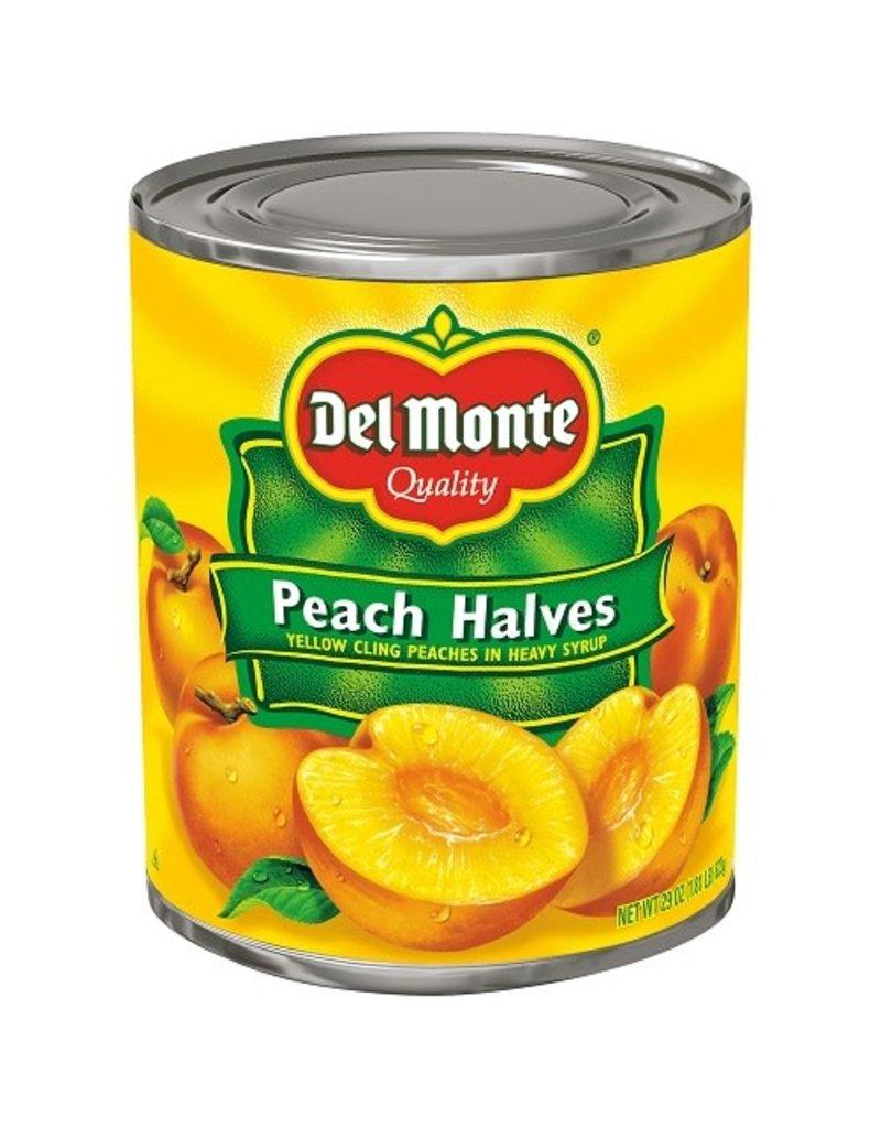 Del Monte Del Monte Peach Halves, 29 oz