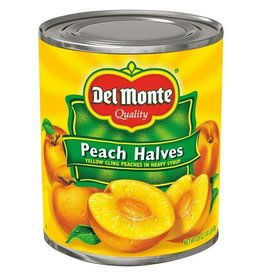Del Monte Del Monte Peach Halves, 29 oz, 6 ct