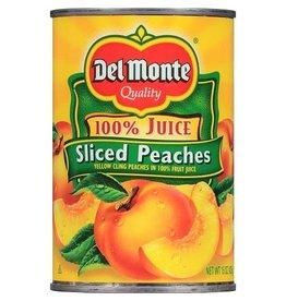 Del Monte Del Monte Peaches Sliced Natural, 15 oz