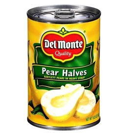 Del Monte Del Monte Pear Halves Heavy Syrup, 15.25 oz, 12 ct